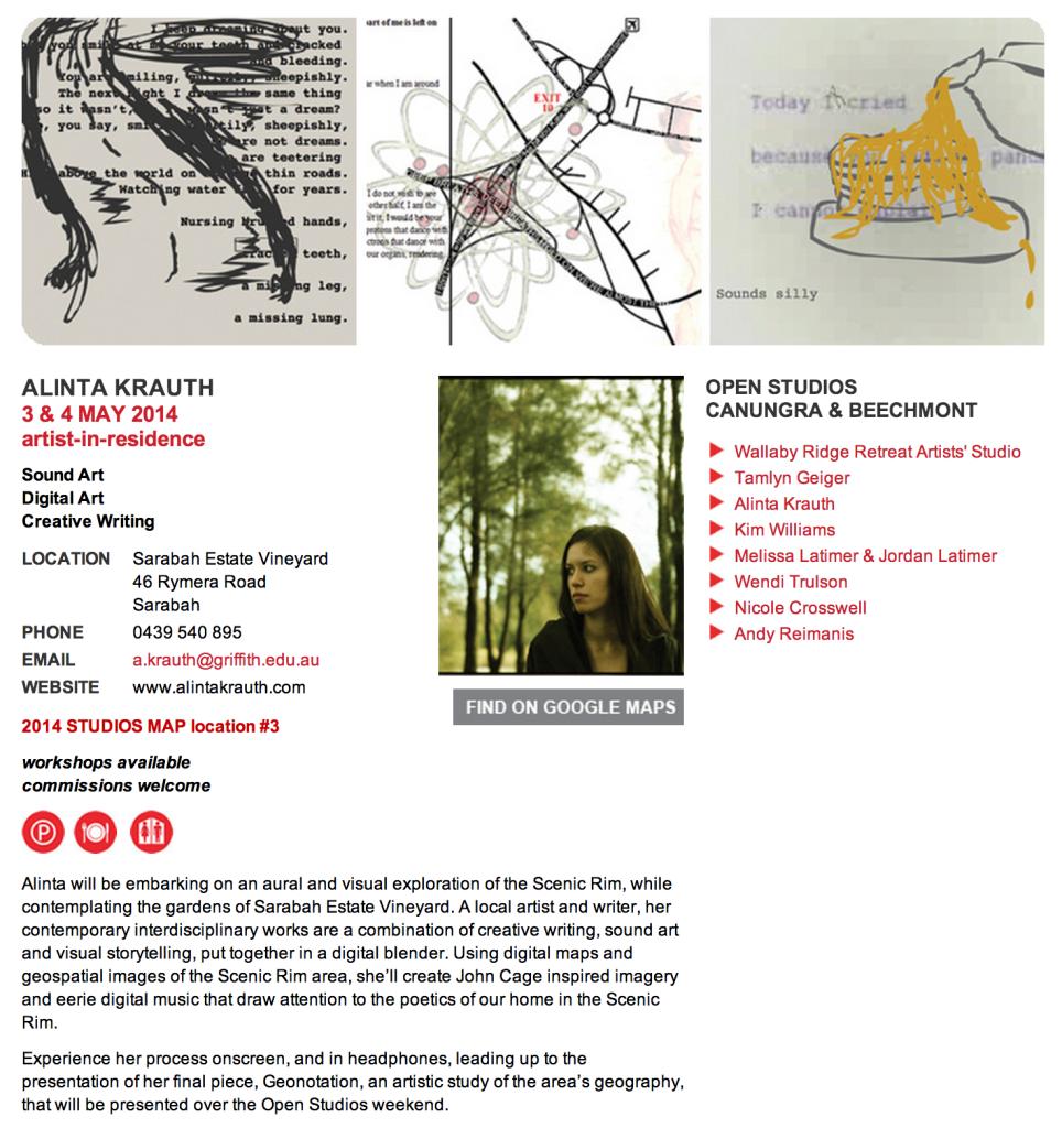 Scenic Rim Cultural Trails Alinta Krauth
