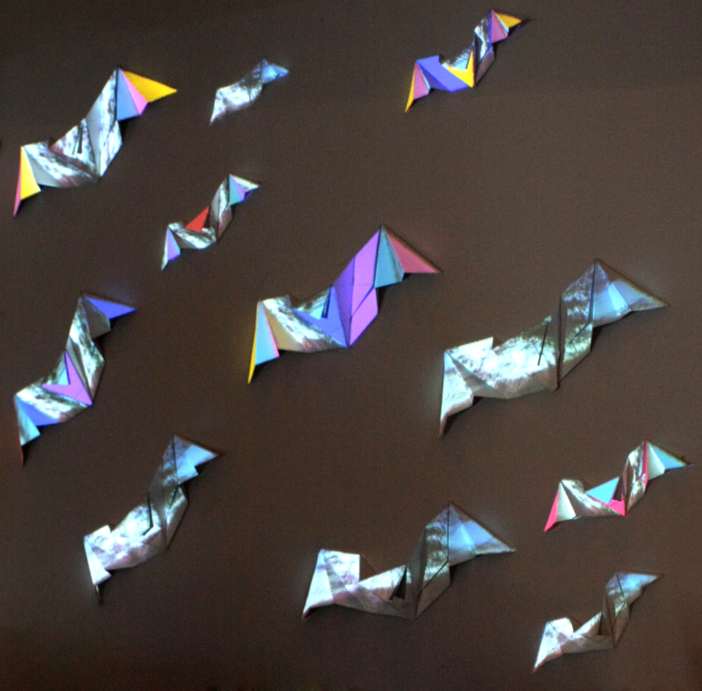 Alinta Krauth - 'You Are Vital' projection mapping installation